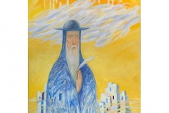 The ecclesiast ...the poet 120 x 80 cm